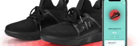 Los nuevos zapatos de DropLabs, ofrecen otra forma de experimentar la música