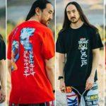 Steve Aoki x Naruto – Mira la nueva colección de street wear en colaboración entre el Dj y su manga favorito