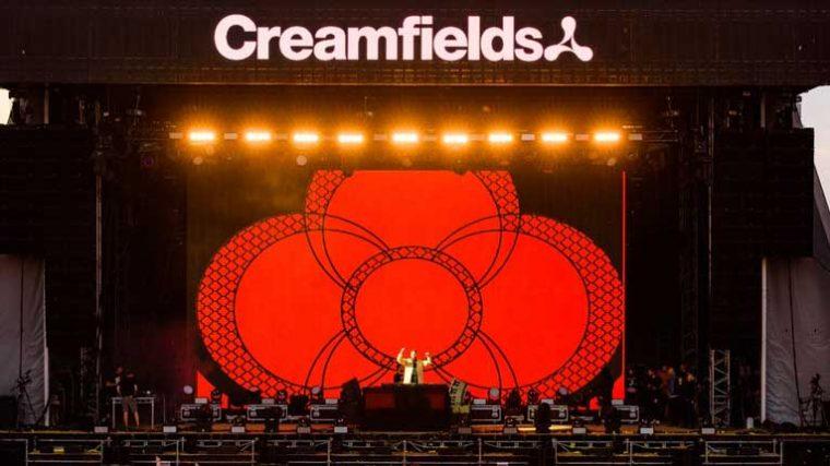 Con más de un centenar de Djs en su lineup Creamfields promete ser el mejor festival de la era post-covid