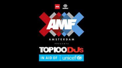 Ya puedes ver el line up para el evento virtual AMF Top 100 DJs Awards 2020