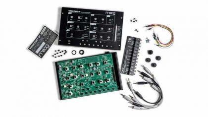 VIDEO: Moog presenta el 'Werkstatt-01' un sintetizador analógico que puedes armar tu mismo