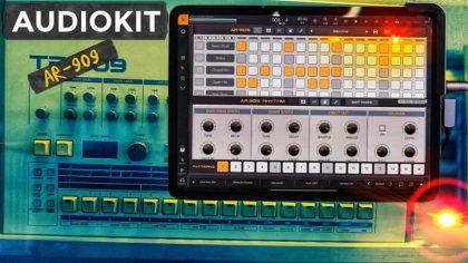 Limited Edition: La App «AR-909» está inspirada en la TR-909 de Roland y está disponible en la App Store