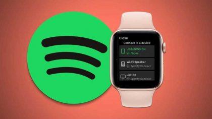 ¿Tienes un Apple Watch? Ahora podrás reproducir en Spotify full streaming sin necesidad de un iPhone