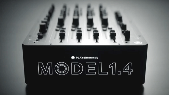 VIDEO | Play Differently acaba de lanzar el mixer 'MODEL 1.4' co-creado por Richie Hawtin