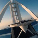 VIDEO | Mira a David Guetta tocar desde lo más alto de  Dubai para «United At Home»