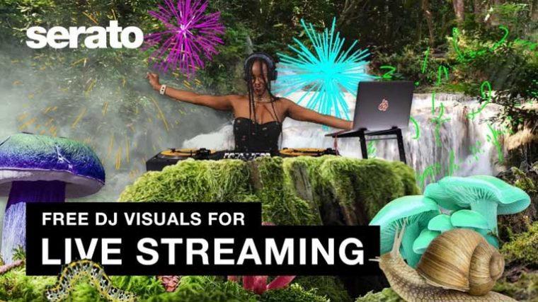 VIDEO | SERATO está ofreciendo visuales gratis para los streaming de Djs