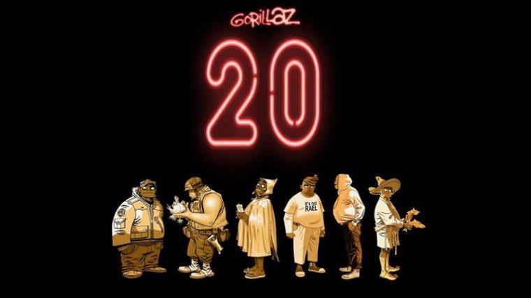 Gorillaz cumple 20 años y lo celebra lanzando merch, juguetes y música