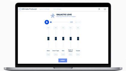 Pon a prueba tu habilidad mezclando con la nueva plataforma 'Ultimate Producer'