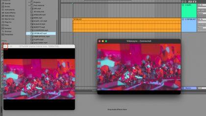 Videosync: Ahora puedes trabajar el video como audio en Ableton Live