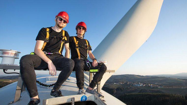 Camo & Krooked tocarán desde una turbina eólica a 70 metros de altura