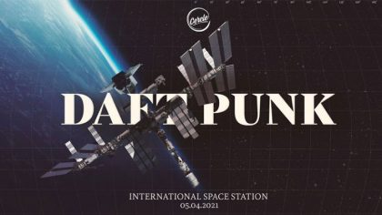 Cercle reúne a Daft Punk y los lleva a tocar en la Estación Espacial Internacional