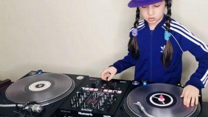Con solo 9 años esta niña participará en el DMC WORLD DJ CHAMPIONSHIPS
