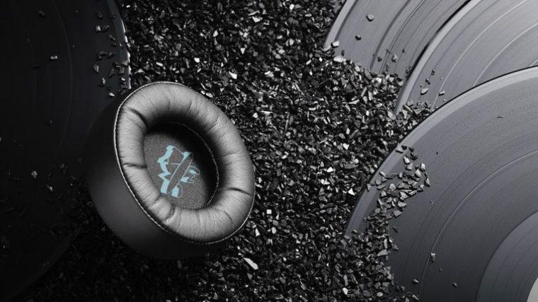 Conoce los primeros auriculares creados con vinilos 100% reciclados