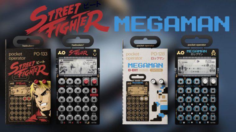 Teenage Engineering te ofrece la posibilidad de poner música a Megaman y Street Fighter