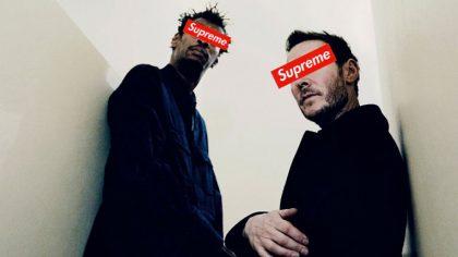 Mira la colaboración de la marca de street wear Supreme con Massive Attack