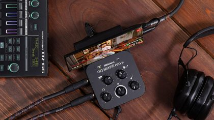 Roland lanza un mixer portable para hacer live streaming desde un smartphone