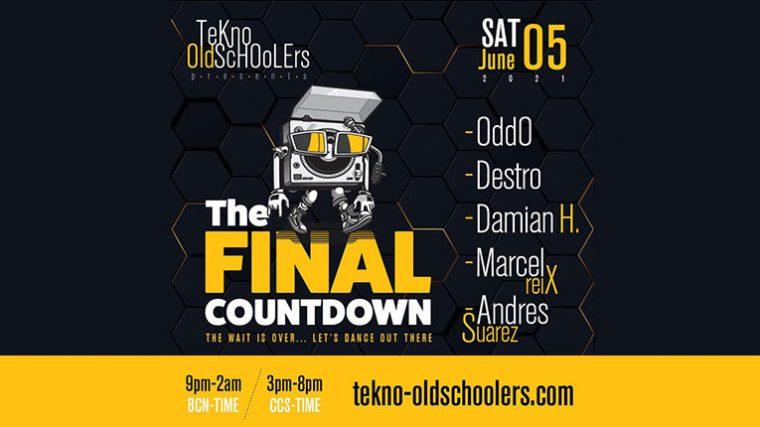 The Final Countdown: Tekno-Oldschoolers anuncia sesión de puro techno esté sábado