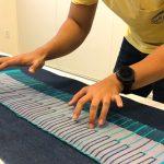 KnittedKeyboard II: Una bufanda que también sirve como MIDI keyboard