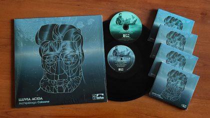 El dúo electrónico chileno Lluvia Ácida lanza vinilo 'Archipiélago Coloane'