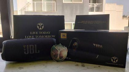 JBL incluye la edición 'Tomorrowland' a su serie de audio portátil Charge