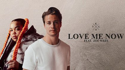 Kygo lanza nuevo track «Love Me Now» Ft. Zoe Wees