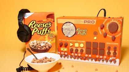Las cajas de cereales Reese's Puffs ahora funcionan como sintetizadores