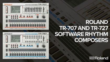 Roland Cloud: Conoce las nuevas características de la TR-707 y TR-727